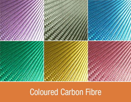 Coloured Carbon Fibre