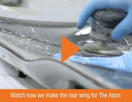 Video: Watch how we make the rear wing for The Atom in Norfolk