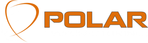Polar Manufacturing logo with white text