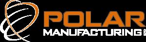 Polar Manufacturing logo with white text