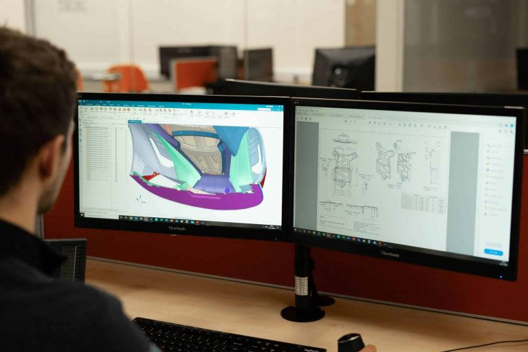Example of our product design service using Siemens NX